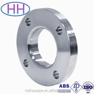 China stainless steel din 2633 slip on flange