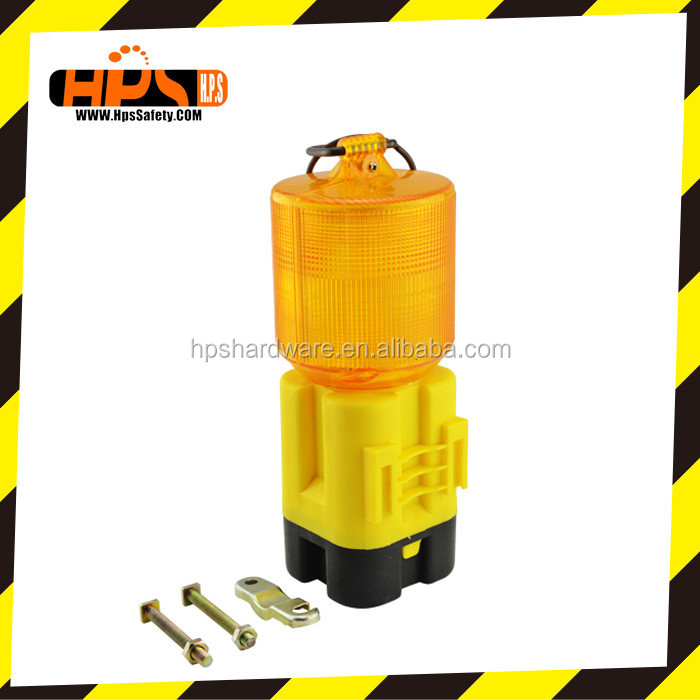 20w battery operated led warning light for traffic cone