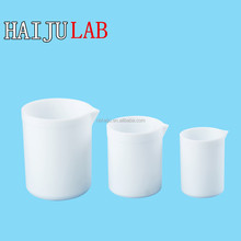 HAIJU LAB China Factory Directly PTFE/Teflon Beakers/Mug With Spout