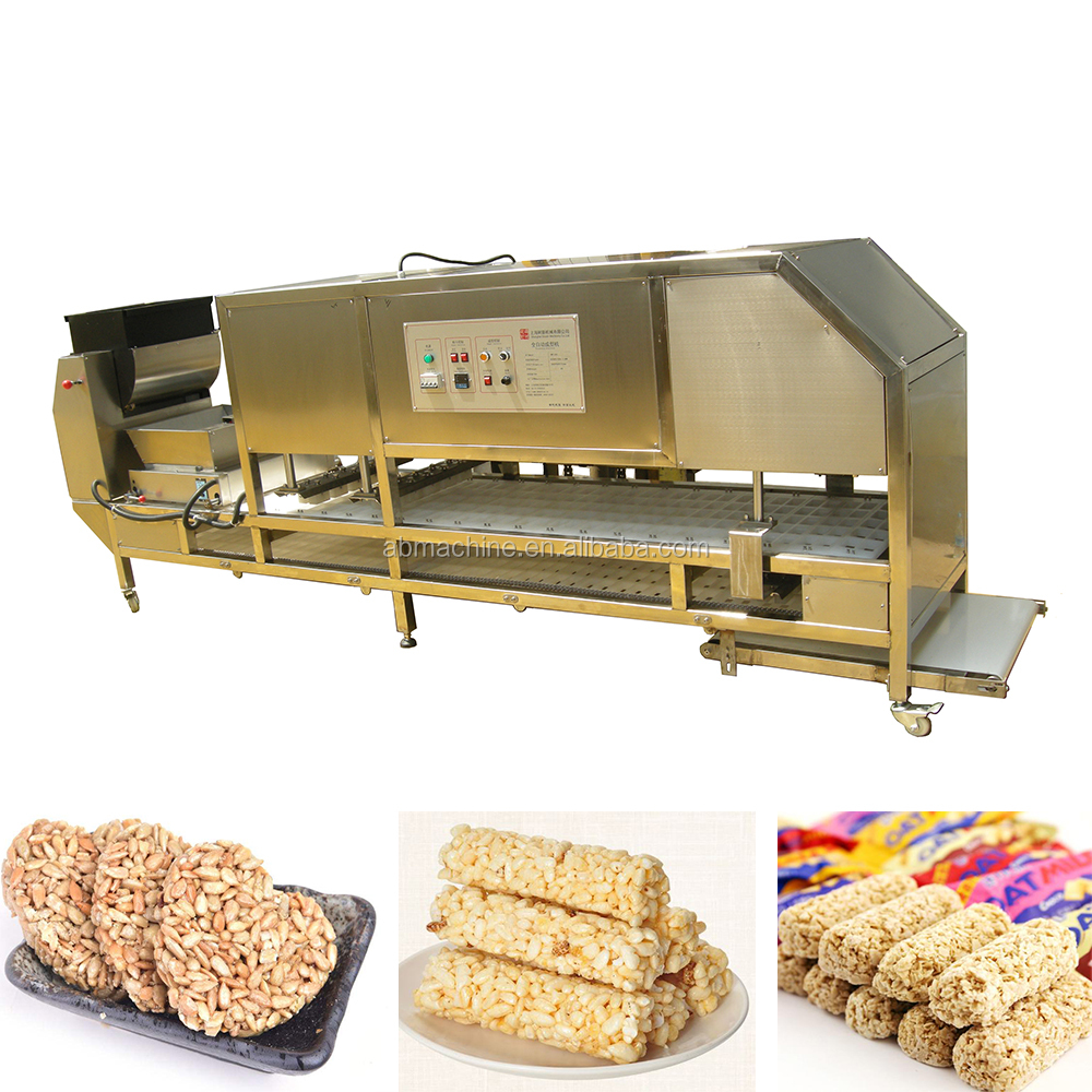 granola bar making machine production line rice balls making machine