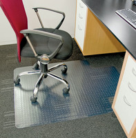 Pvc chair mat floor protection