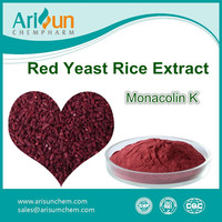 Red Yeast Rice Extract Monacolin K Powder 5%/Monacolin K 5%