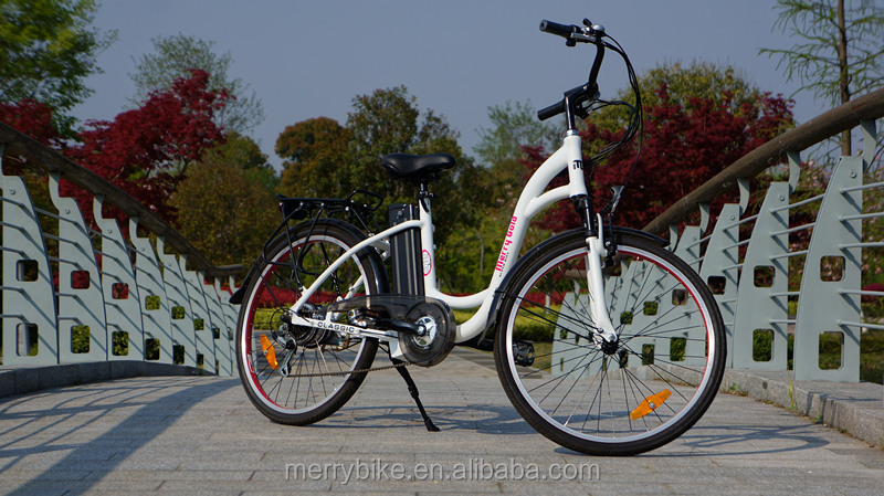 Fantastic lady electric bike city velo electrique european market eco e bicycle with powerful engine
