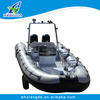 23ft rib inflatable aluminum cabin boats