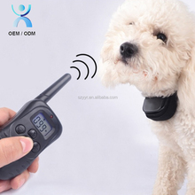 2017 Hot Remote Pet Dog Training E Collar Electric Shock Device