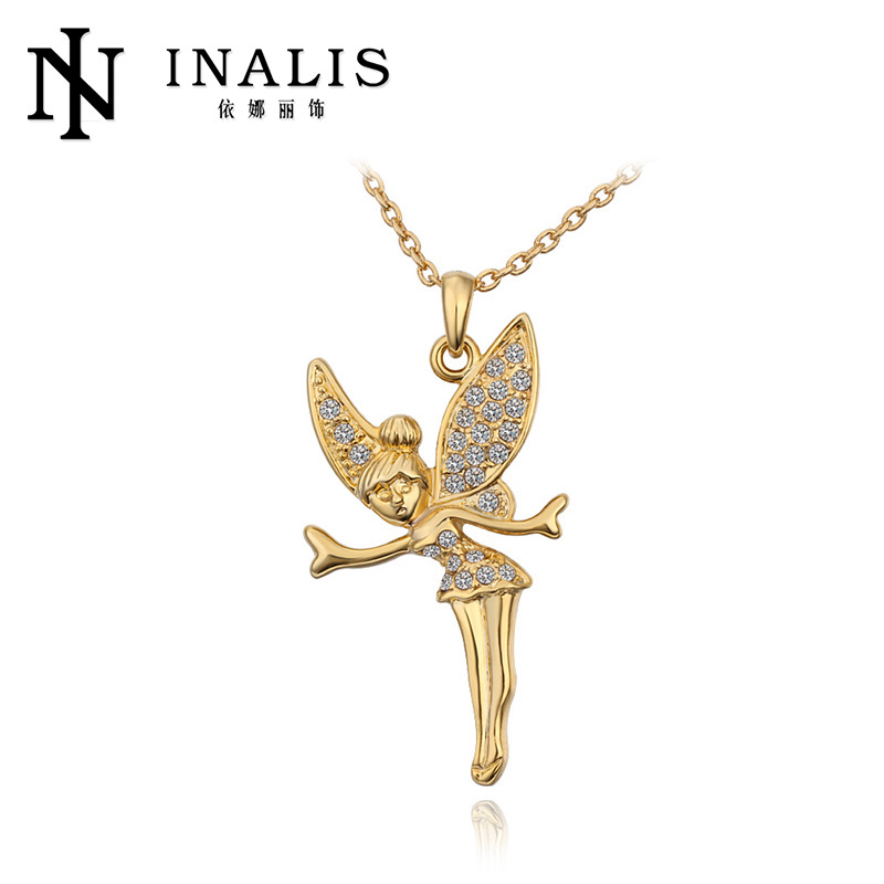 2014 crystal guardian angel necklaces