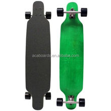 High quality 60 Inch hard maple wood skate longboard road maple longboard