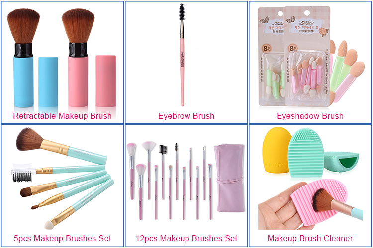 2018 Hot selling wholesale high quality makeup brush cosmetic blush brush makeup for face