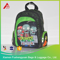Wholesale low price Plants vs zombies child school bags