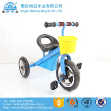 Alibaba online selling 4 in 1 baby smart trike / hot sale kids tricycle with trailer / inflatable tyre children tricycle seats