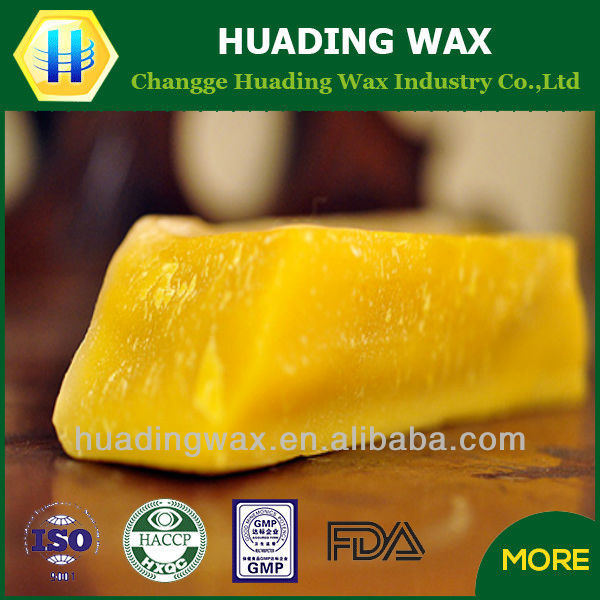 2016 newest crude 100% natural pure refined beeswax