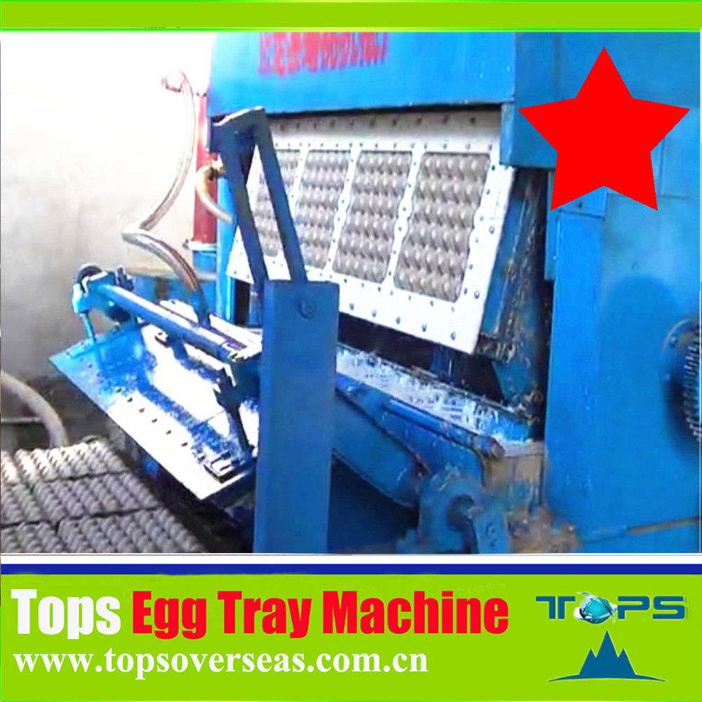 Paper Mold Reciprocating Carton Pulp Molding Egg Tray Machine