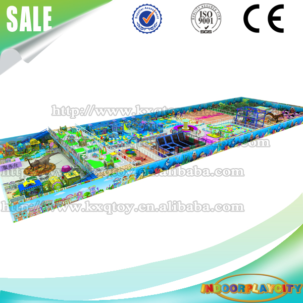 Shopping Mall One Stop Solution Soft Playground Equipment