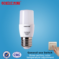 CE certification 3000k 5000k 4000k adjustable 230 to 650 lumen led bulb light