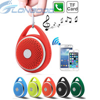 Outdoor Sports Hike Bicycle Portable Speakers Bluetooth Car Handsfree Mic Music, Support TF Card