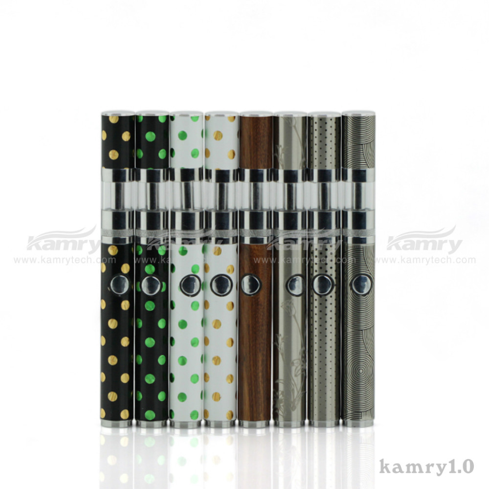 Kamry Hot Slim Luminous E-cig Kamry1.0 Vape Electronic Cigarette, No Wick Vaporizer