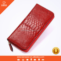 New Black Top Genuine Leather Wallet Lady Women Girl Fashion Croco Purse