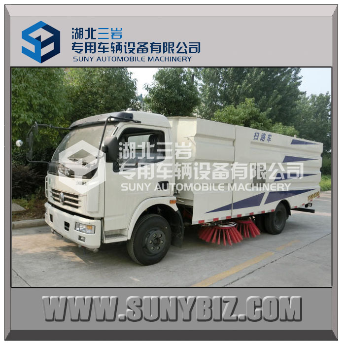 Dongfeng 4x2 Road Sweeper Truck/ Off Road Truck//Suction Sweeping Vehicles
