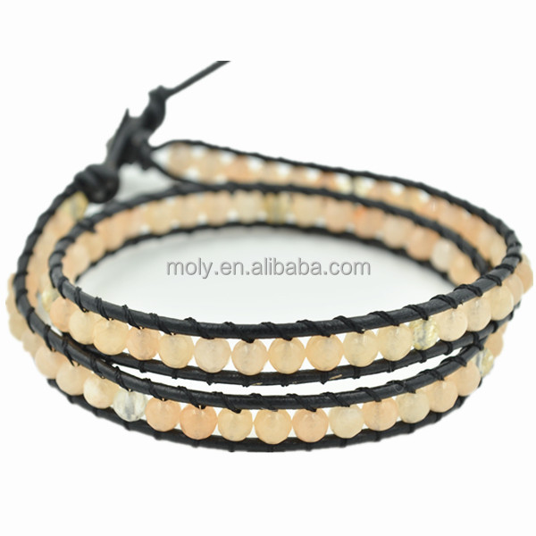 Fashion Beads Braided Wrap Bracelet China Wholesale Websites