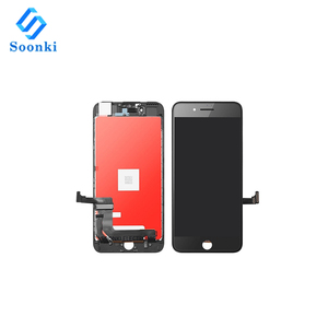 Best price 100% TM touch screen digitizer replacement for iphone 7 plus lcd black 5.5""