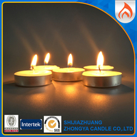 industry leader supplier decorative white wax tea light candle