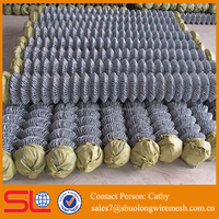 temporary rubber coated chain link fence factory directly price ISO certification