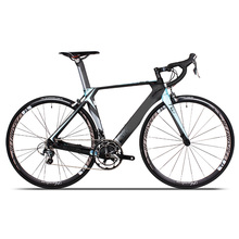 Super light full carbon 700c complete road bike 20speed with v brake