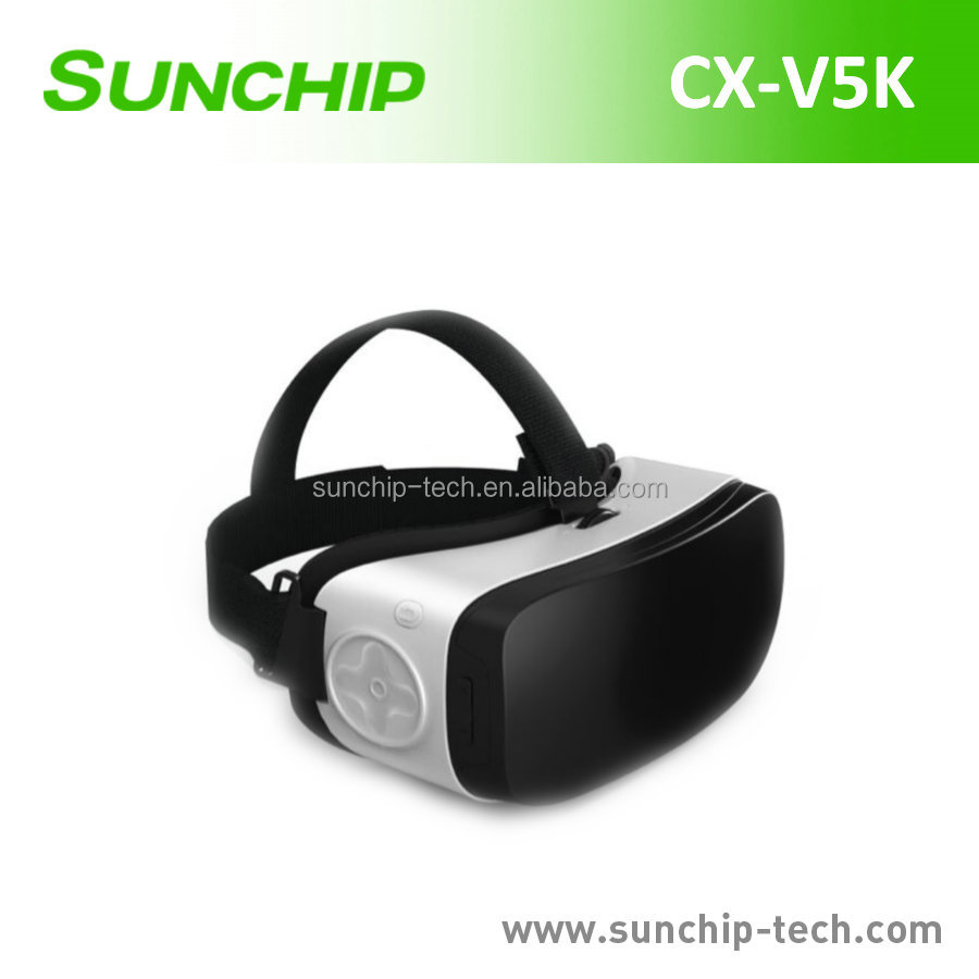 New products 3d vr all in one Glasses Virtual Reality, all in one vr headset RK3288 Nibiru operating system