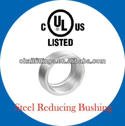 Electric Conduit Reducing Bushings UL listed
