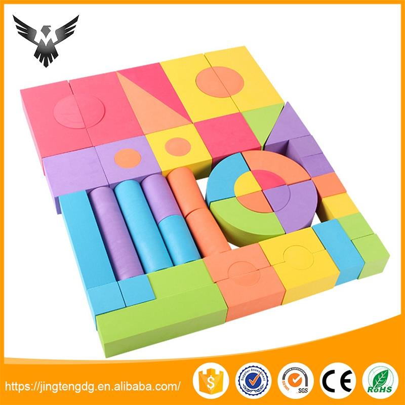 Best quality eva kids toy custom building block bricks construct toy