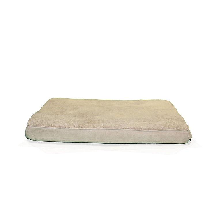 Round Edge Cotton Soft Foam Outdoor Pet Bed