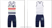 good quality sportswear costume basketball and soccer jersey for kids