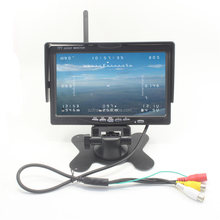 "Ifree 7"" LCD HD 40CH Buid-in Wireless Video Receiver Real Time Image Transmission for Remote Control FPV System 5.8G FPV Monitor"