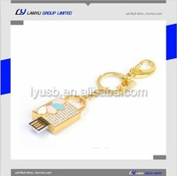 Jewerly cheap usb flash drives wholesale, key chain usb flash disk