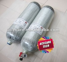 Carbon Fiber cylinder used as SCUBA tank---Acecare