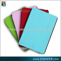 2013 new products leather cover for ipad mini