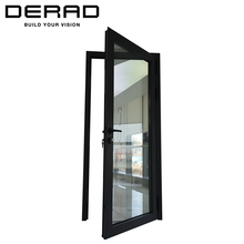Residential or Commercial Aluminium Casement Door With Tempered Glass