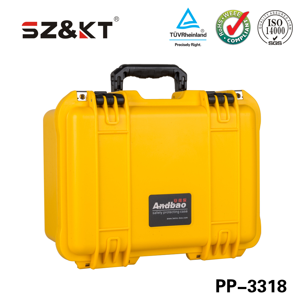 Engineering plastics PP Material and Waterproof Plastic Camera case