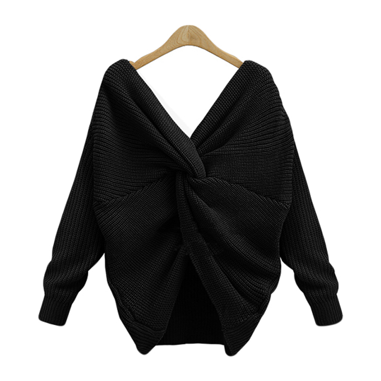 Sweater woman black pullover synonym pronounce clothing brand