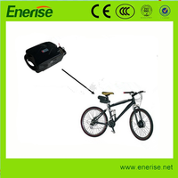 24v/36v 10ah lithium-ion ebike battery with plastic case battery packs for electric bicyle scooter
