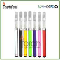 Popularity refillable 510 cartomizer potable glass bud touch cartridge hemp oil vape pen