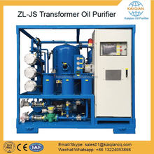 Vacuum Transformer oil reconditioning system