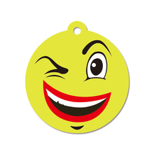 YIWU Hot Sale Good Quality Customized Hanging Emoji Face Car Air Freshener