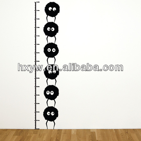Measure height growth wall stickers