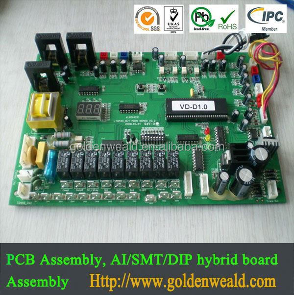 high-performance customized pcba board controller pcba manufacturer electric fireplaces pcba
