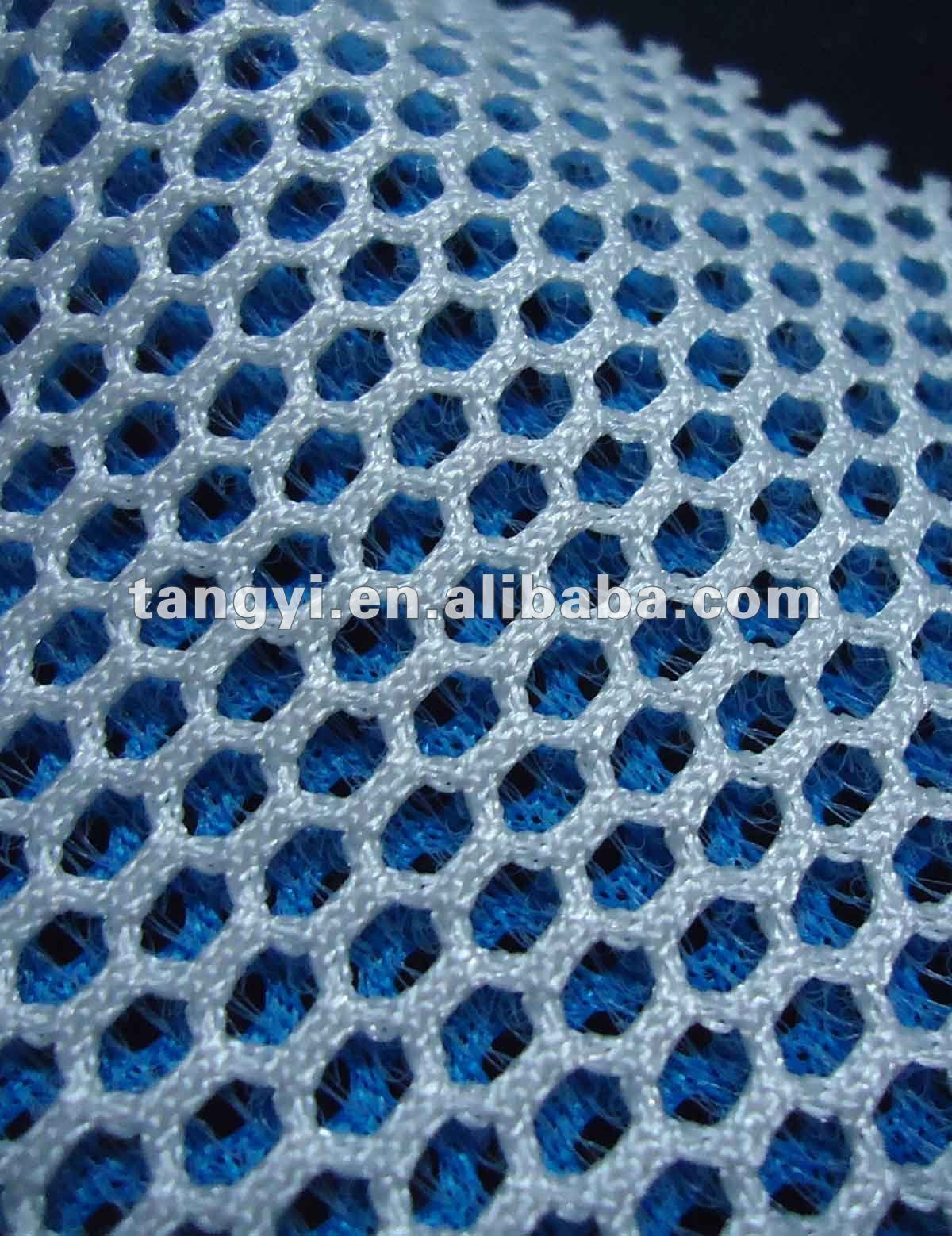 double color polyester knitted air mesh fabric