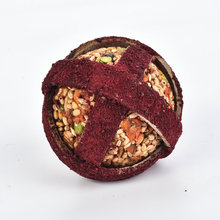 Foodball beetroot powder with color pellet Rodents treats Rolling FoodBall