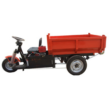 cargo truck with three wheeler/open cabin cargo tricycle for sale