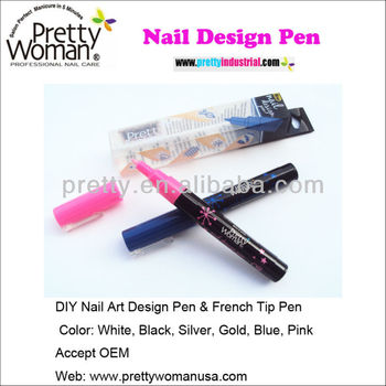 2014 Hot Sale Nail Polish Pen With Different Colors For DIY Nail Art