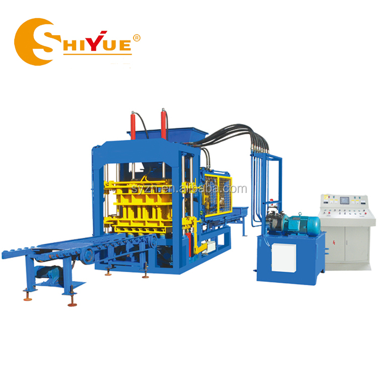 QT6-15 automatic block making machine suppliers in south africa